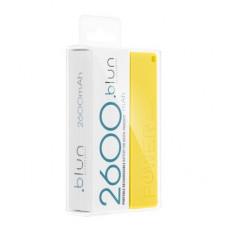 Преносима батерия Power Bank PERFUME-2600 mAh Blun - Huawei Honor 8S 2020 жълт