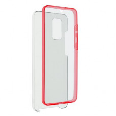 360 Full Cover case PC + TPU - Samsung Galaxy S20 Plus червен