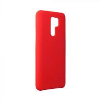 Гръб Forcell Silicone - Xiaomi Redmi Note 9 - червен