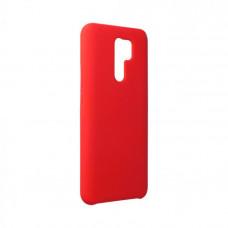 Гръб Forcell Silicone - Huawei P Smart (2020) - червен