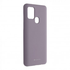 Гръб Mercury Silicone - Samsung Galaxy Note 20 Ultra 5G - лилав