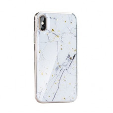 Гръб Forcell Marble - Apple iPhone 12 Pro бял