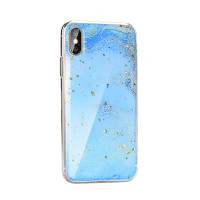 Гръб Forcell Marble - Samsung Galaxy A21s син