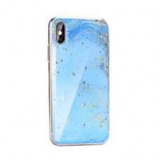 Гръб Forcell Marble - Apple iPhone 12 Pro син