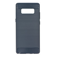 Гръб FORCELL Carbon - Xiaomi Redmi Note 8 - графит