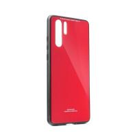 Гръб GLASS Case- Huawei P30 червен