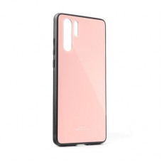 Гръб GLASS Case - Huawei P30 Pro New Edition розов