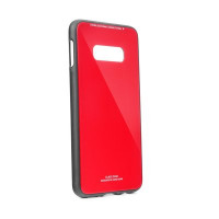 Гръб GLASS Case- Samsung Galaxy A50 червен