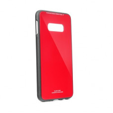 Гръб GLASS Case - Samsung Galaxy A50 - червен