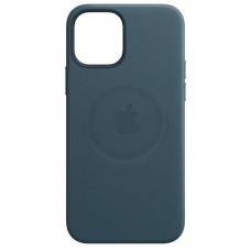 Apple iPhone 12 Mini Leather Case with MagSafe Baltic Blue