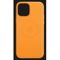 Apple iPhone 12 Pro Leather Case with MagSafe California Poppy