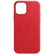Apple iPhone 12 Mini Leather Case with MagSafe Red