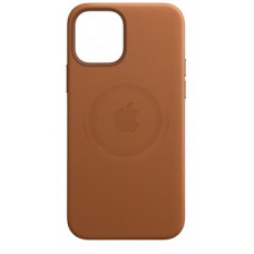 Apple iPhone 12 Mini Leather Case with MagSafe Saddle Brown