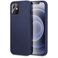 Гръб FuteraĹ ESR Cloud Apple iPhone 12 MINI-Тъмносин