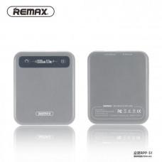 Външна батерия Remax Pino 2500 mAh - OnePlus Nord N100 - сива