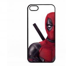 PVC гръб - 2d за Apple iPhone 5 - Deadpool 1