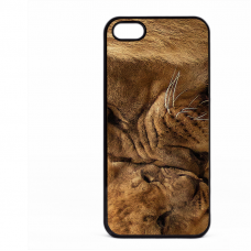 PVC гръб - 2d за Apple iPhone 5 - Lion 2016 2