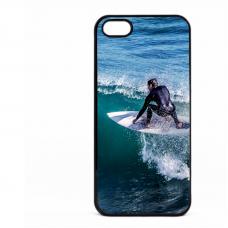 PVC гръб - 2d за Apple iPhone 5 - Surfer