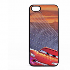 PVC гръб - 2d за Apple iPhone 5 - cars3