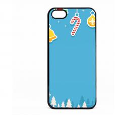 PVC гръб - 2d за Apple iPhone 5 - christmas5