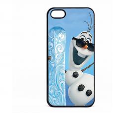PVC гръб - 2d за Apple iPhone 5 - frozen2