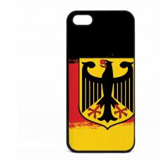 PVC гръб - 2d за Apple iPhone 5 - germany