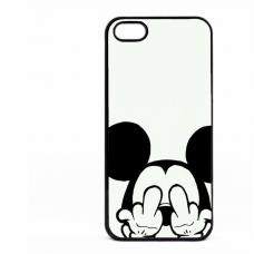 PVC гръб - 2d за Apple iPhone 5 - mickey