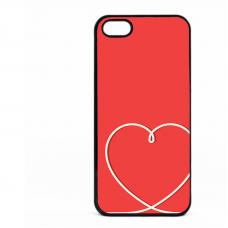 PVC гръб - 2d за Apple iPhone 5 - valentine