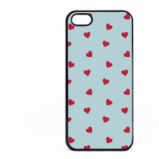 PVC гръб - 2d за Apple iPhone 5 - valentine1