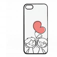 PVC гръб - 2d за Apple iPhone 5 - valentine3