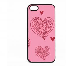 PVC гръб - 2d за Apple iPhone 5 - valentine4