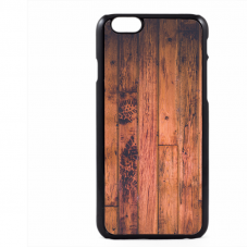 PVC гръб - 2d за Apple iPhone 6  - wood