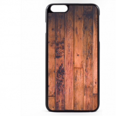 PVC гръб - 2d за Apple iPhone 6 Plus - wood