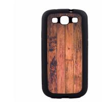 PVC гръб - 2d за Samsung Galaxy S3 I9300 - wood
