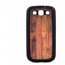 PVC гръб - 2d за Samsung Galaxy S3 I9300 - wood