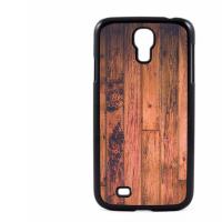 PVC гръб - 2d за Samsung Galaxy S4 I9500 - wood