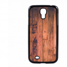 PVC гръб - 2d за Samsung Galaxy S4 I9500 - wood
