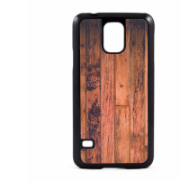 PVC гръб - 2d за Samsung Galaxy S5 G900 - wood
