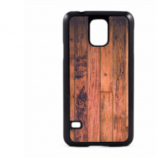 PVC гръб - 2d за Samsung Galaxy S5 G900 - wood