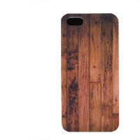 PVC гръб - 3d за Apple iPhone 5 - wood