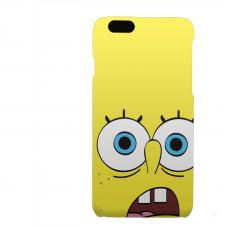 PVC гръб - 3d за Apple iPhone 6  - spongebob-sized