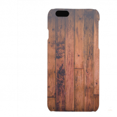 PVC гръб - 3d за Apple iPhone 6  - wood