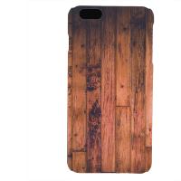 PVC гръб - 3d за Apple iPhone 6 Plus - wood