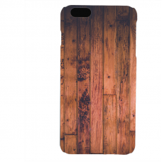 PVC гръб - 3d за Apple iPhone 6 Plus - wood