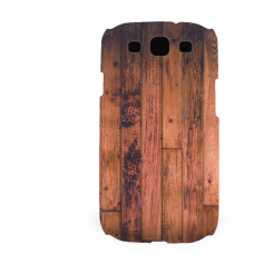 PVC гръб - 3d за Samsung Galaxy S3 I9300 - wood