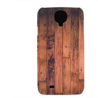 PVC гръб - 3d за Samsung Galaxy S4 I9500 - wood