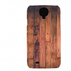 PVC гръб - 3d за Samsung Galaxy S4 I9500 - wood