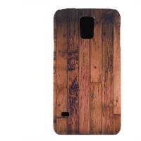 PVC гръб - 3d за Samsung Galaxy S5 G900 - wood