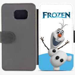 Калъф тип тефтер за Samsung Galaxy S6 Edge G925 - frozen