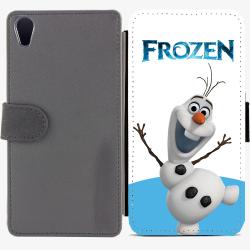 Калъф тип тефтер за Sony Xperia Z2 - frozen